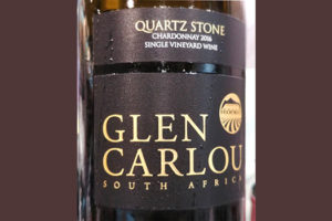Отзыв о вине Glen Carlou Quartz Stone single vineyard chardonnay 2016