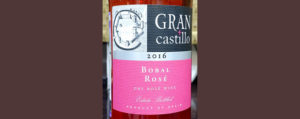 Отзыв о вине Gran Castillo bobal rose 2016