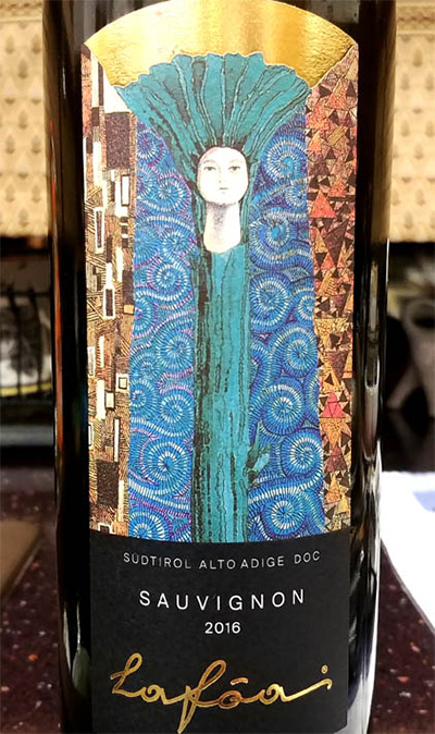 Отзыв о вине Lafoa sauvignon Alto Adige 2016