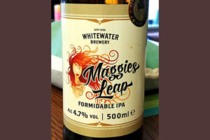 Отзыв о пиве Maggies Leap formidable IPA