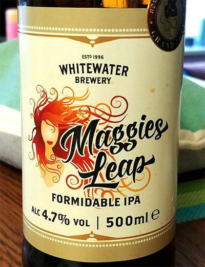 Отзыв о пиве Maggies Leap formidable IPA