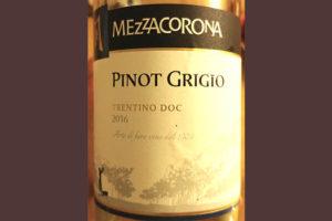 Отзыв о вине Mezzacorona i Classici Pinot Grigio 2016