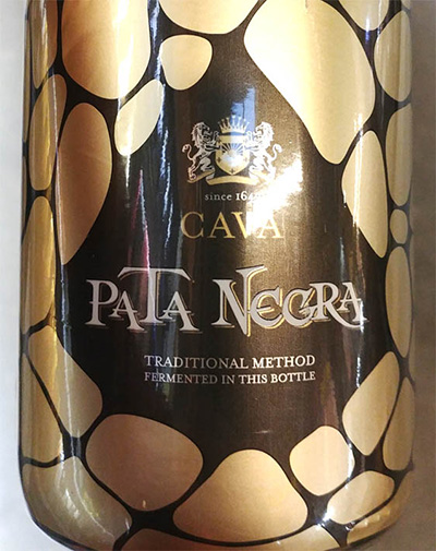 Отзыв об игристом вине Pata Negra Cava brut 2016