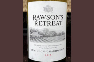 Отзыв о вине Rawson's Retreat semillon chardonnay 2013