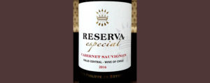Отзыв о вине Reserva especial cabernet sauvignon Baron Filippe de Rotshild 2016