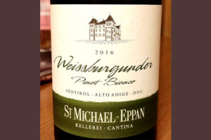 Отзыв о вине St.Michael-Eppan Weisseburgunder Pinot Bianco 2016