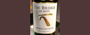 Отзыв о вине The Bridge of Hope cabernet sauvignon 2016