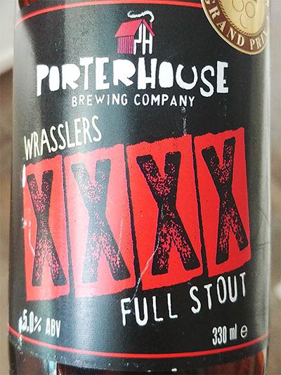 Отзыв о пиве Wrassler XXXX full stout