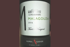 Отзыв о вине Alfa Estate Malagouza turtles vineyard 2016