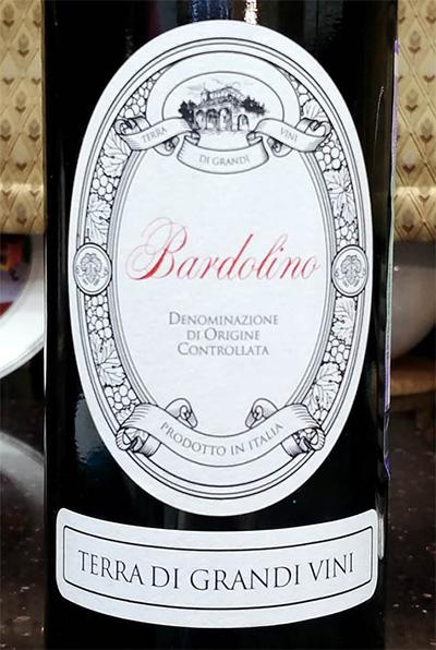 Отзыв о вине Bardolino Terra di grandi vini 2016