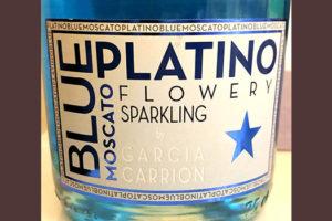 Отзыв об игристом напитке Blue Platino moscato 2018