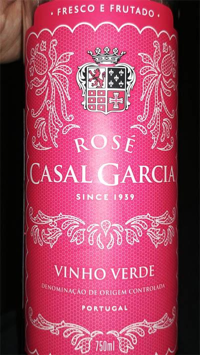 Отзыв о вине Casal Garcia rose 2016