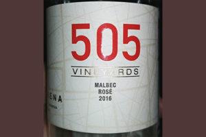 Отзыв о вине Casarena 505 malbec rose 2016