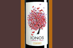 Отзыв о вине Cavino Ionos cabernet s. - merlot 2016