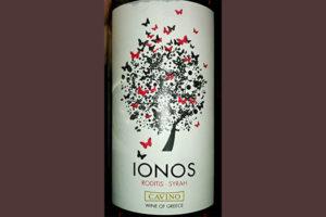 Отзыв о вине Cavino Ionos roditis - syrah 2016