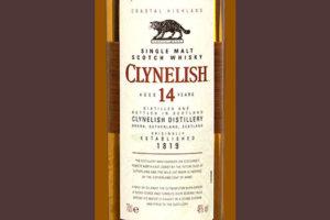 Отзыв о виски Clynelish 14 y.o. 0,75 л