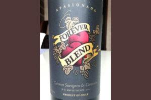 Отзыв о вине Forever Blend cabernet sauvignon & carmenere apasionado 2015
