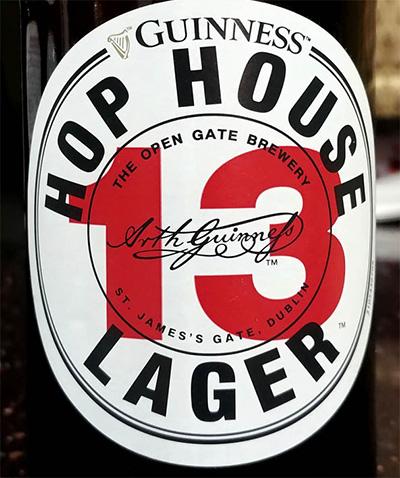 Отзыв о пиве Guinness 13 Hop House lager