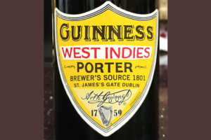Отзыв о пиве Guinness West Indies porter