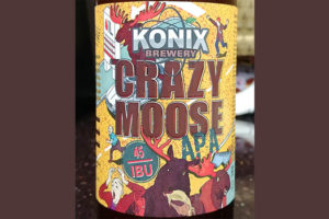 Отзыв о пиве Konix Crazy Moose APA