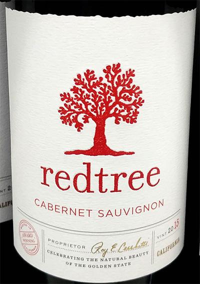 Отзыв о вине Redtree cabernet sauvignon 2015