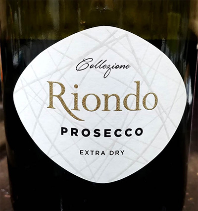 Отзыв об игристом вине collezione Riondo prosecco extra brut
