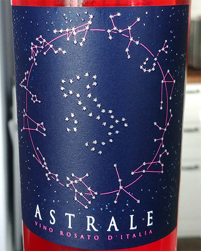 Отзыв о вине Astrale rosato 2017