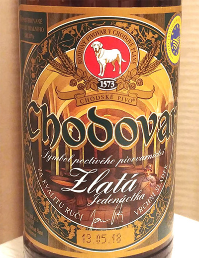 Отзыв о пиве Chodovar Zlata Jedenactka