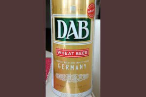 Отзыв о пиве DAB wheat beer