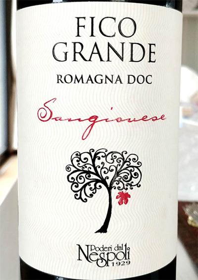 Отзыв о вине Fico Grande sangiovese 2013