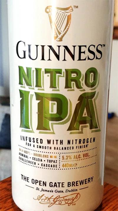 Отзыв о пиве Guinness Nitro IPA