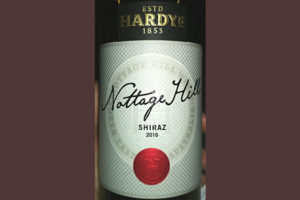 Отзыв о вине Hardy's Nottage Hill shiraz 2016