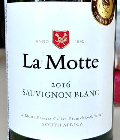 Отзыв о вине La Motte sauvignon blanc 2016