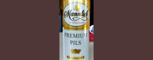 Отзыв о пиве Mannlich international premium pils