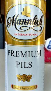Отзыв о пиве Mannlich international premium pils