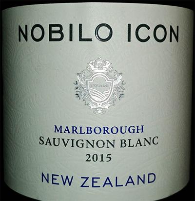 Отзыв о вине Nobilo Icon sauvignon blanc 2015