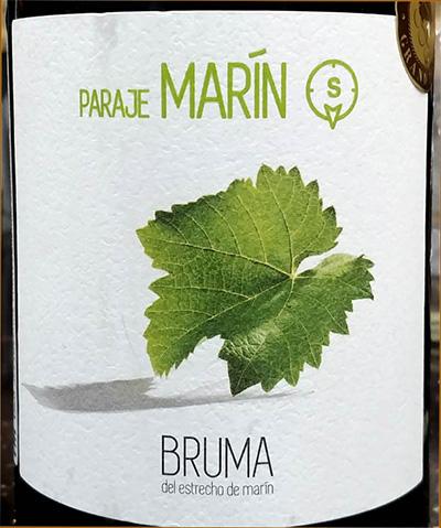 Отзыв о вине Paraje Marin BRUMA 2015