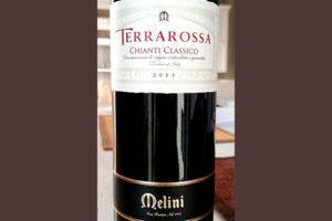 Отзыв о вине Terrarossa Chianti Classico Melini 2011
