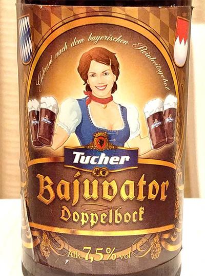 Отзыв о пиве Tucher Bajuvator doppelbock