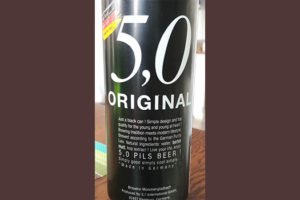 Отзыв о пиве 5.0 original pils beer