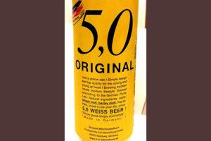 Отзыв о пиве 5.0 original weiss beer