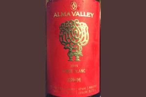 Отзыв о вине Alma Valley Pinot Blanc Крым 2015
