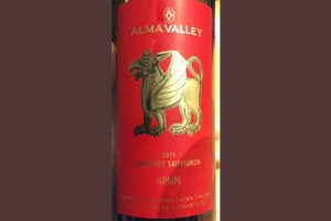 Отзыв о вине Alma Valley cabernet sauvignon Крым 2015
