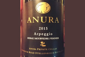 Отзыв о вине Anura arpeggio shiraz mourvedre viognier 2015