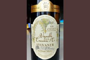 Отзыв о вине Arthur Metz Vignoble de la Couronne d'Or silvaner 2014