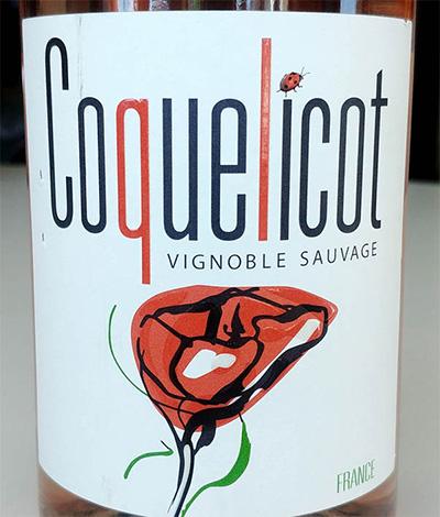 Отзыв о вине Coquelicot vignoble sauvage 2016