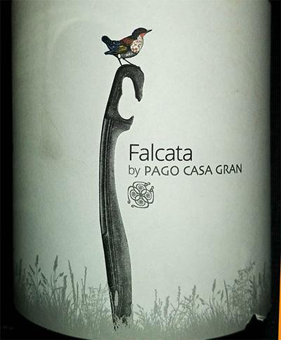 Отзыв о вине Falcata by Pago Casa Gran 2016