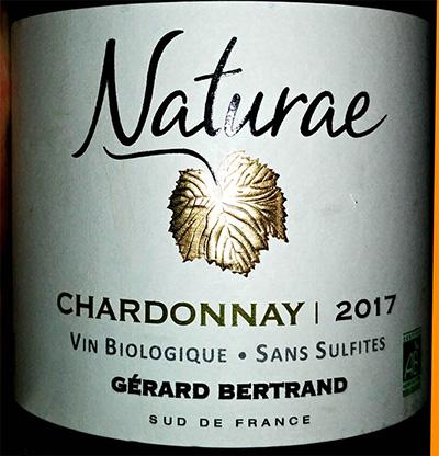 Отзыв о вине Gerard Bertrand Naturae chardonnay 2017