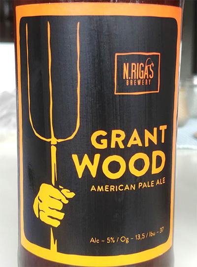 Отзыв о пиве Grant Wood APA