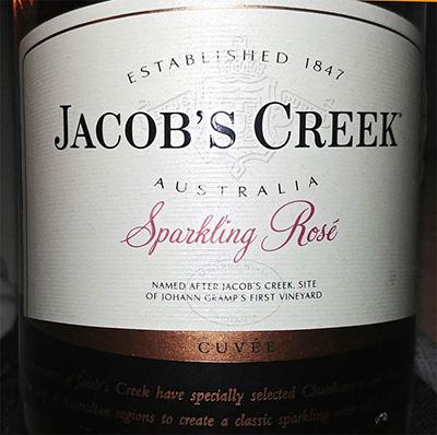 Отзыв об игристом вине Jacob's Creek Sparkling Rose 2016